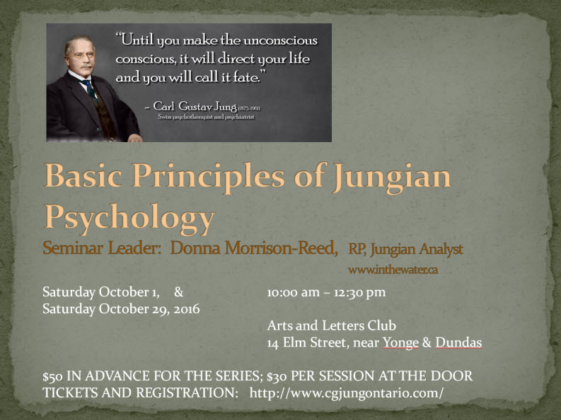 Basic Principles of Jungian Psychology